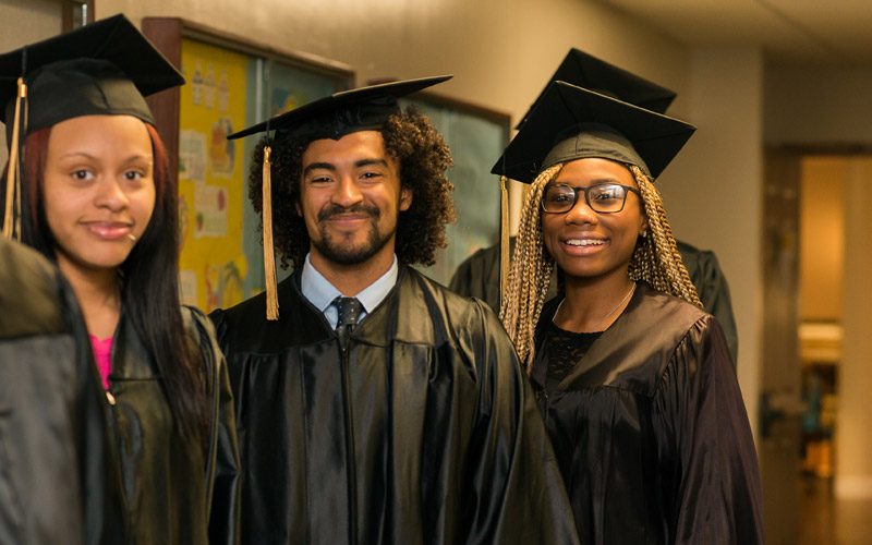 over 100 adults eligible to walk in united ministries ged